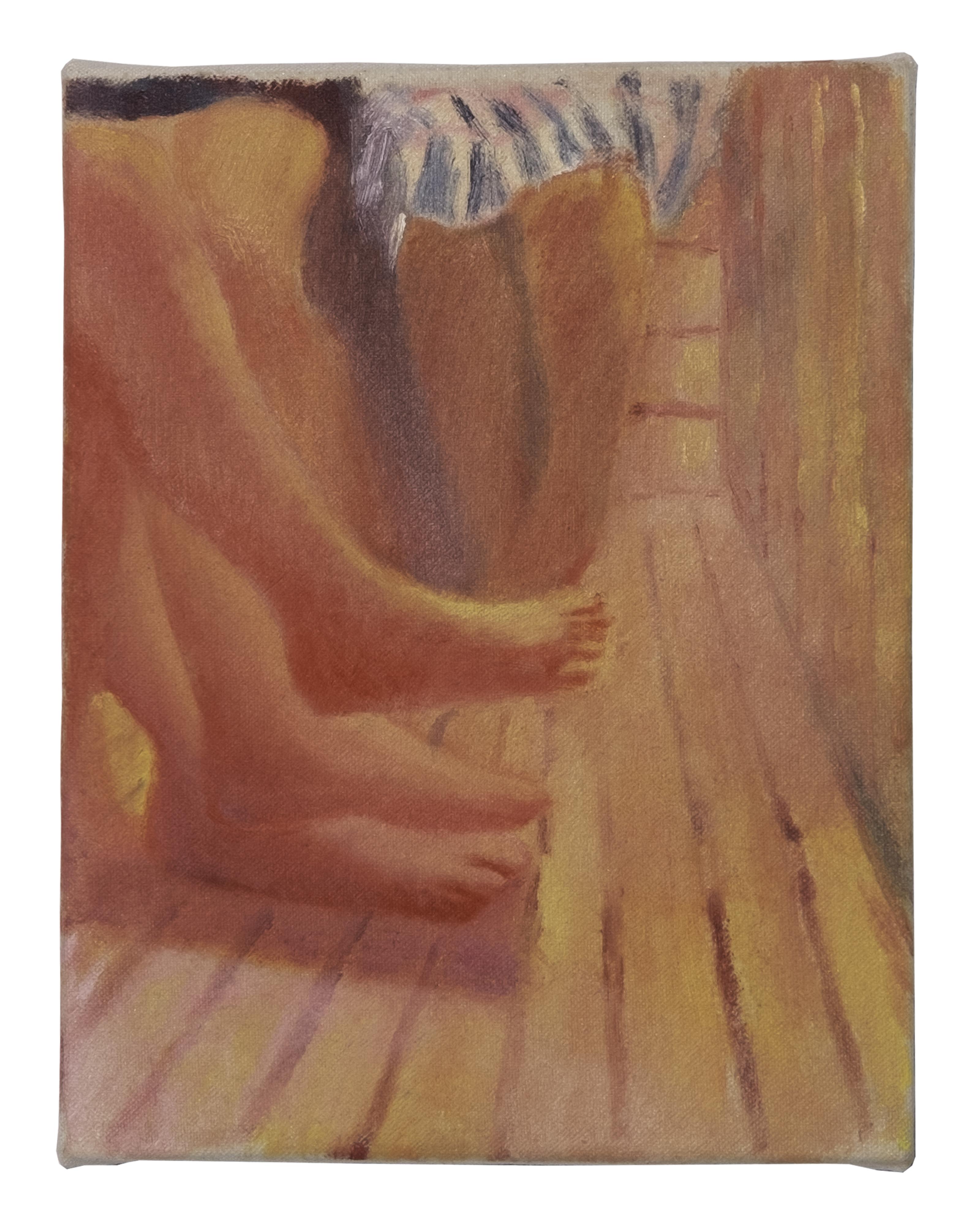 Feet In The Sauna