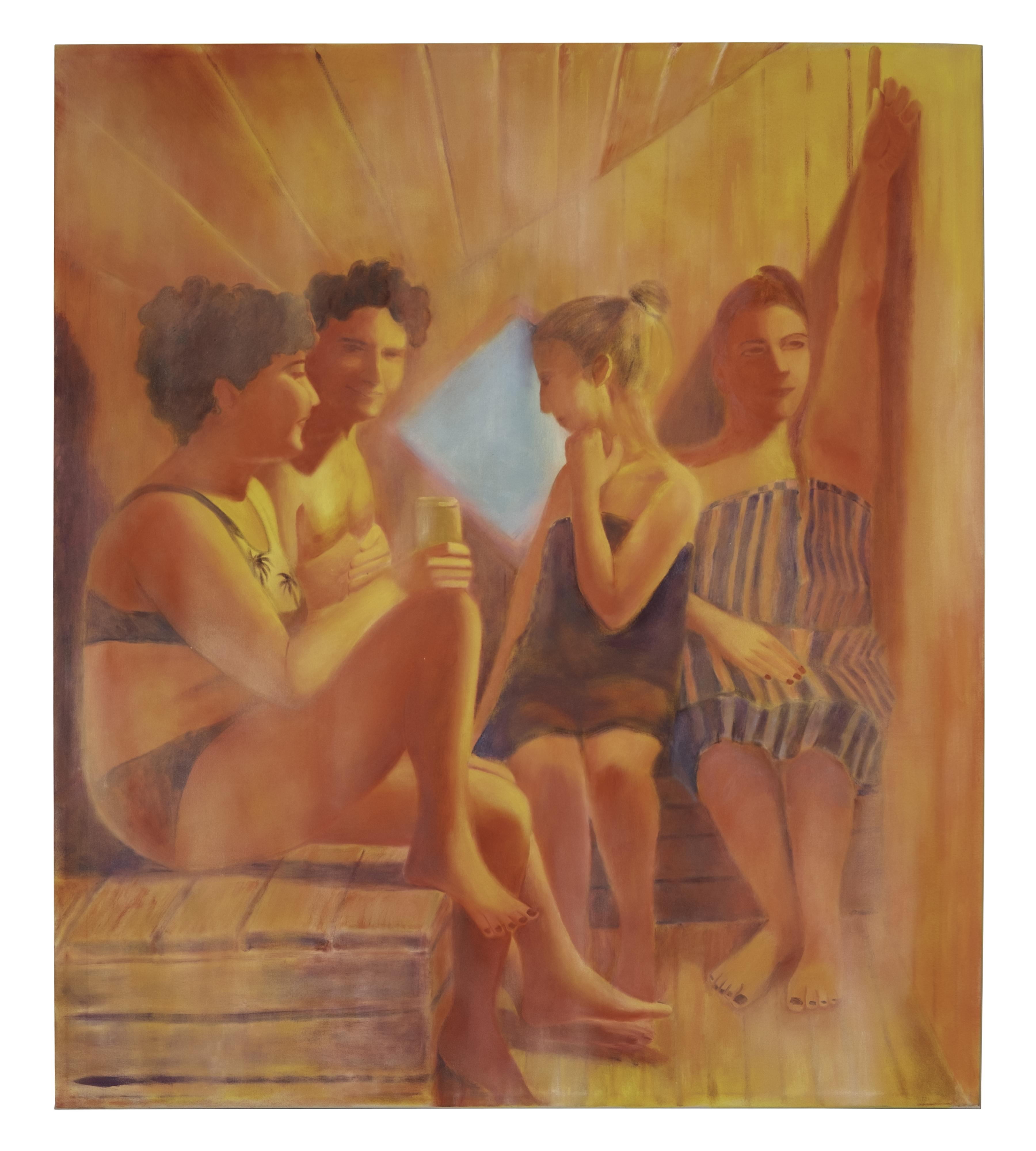 Gabriela, Jack, Julia & Donne (After Manet)