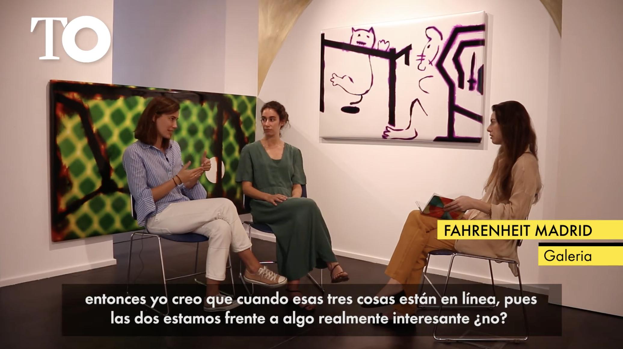 The Objective: 'Galería Fahrenheit Madrid, arte emergiendo'
